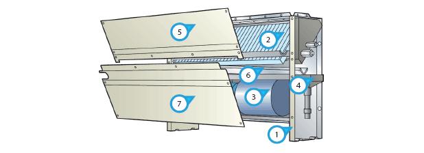 схема канального кондиционера.